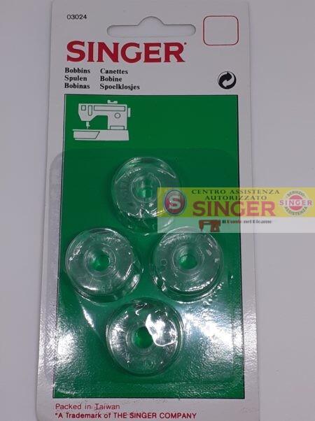SINGER BLISTER 4 BOBINE ALTE 11MM